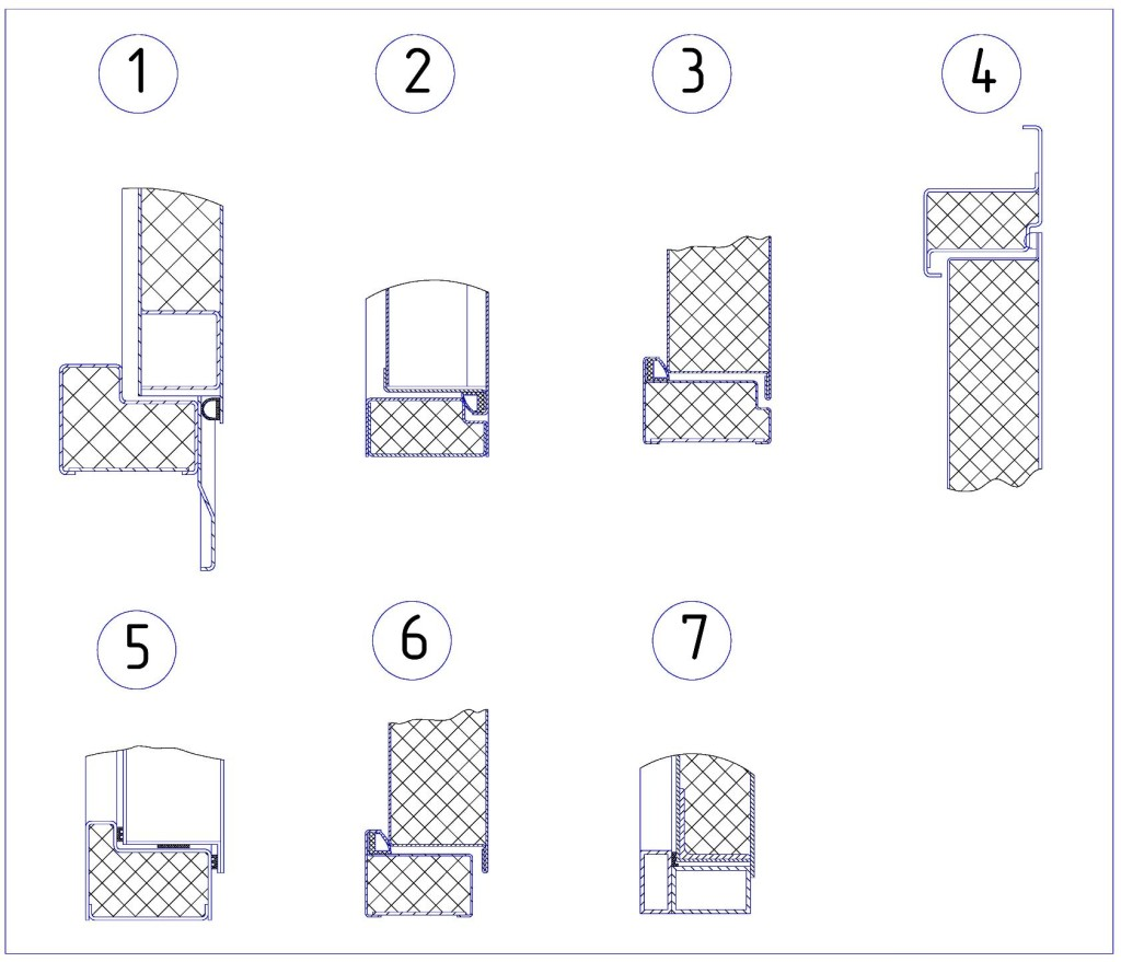 Металлические двери своими руками чертеж