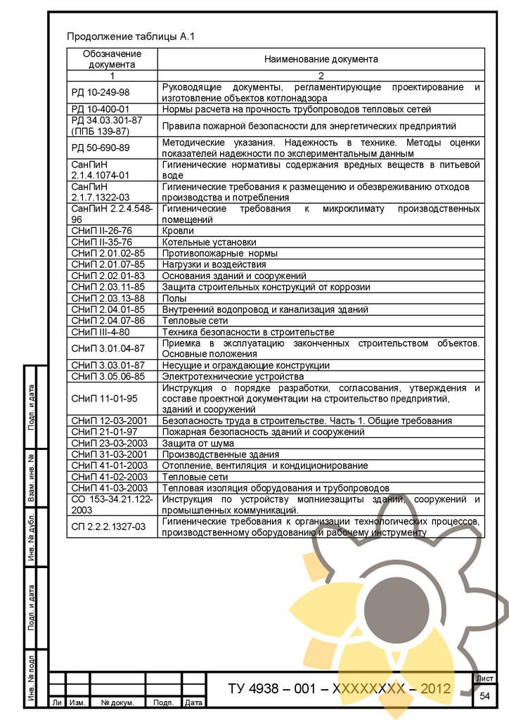 документы для монтажа модульной котельной