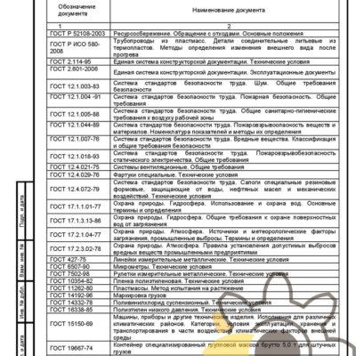 Технические условия на панель облицовочную стр.24