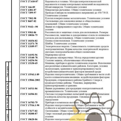 Технические условия на светодиодные прожекторы стр.30
