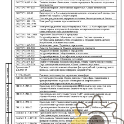 Технические условия на добавку к дизельному топливу стр.25