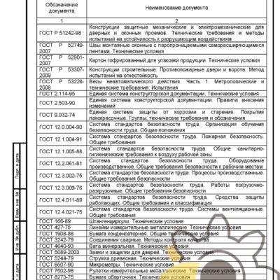 Технические условия на конструкции светопрозрачные противопожарные стр. 21