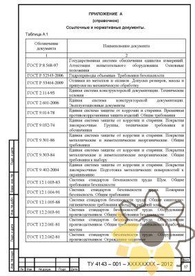 Технические условия на гидроцилиндры стр.17