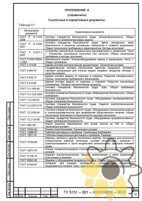 Технические условия на аппарат газированной воды стр.18