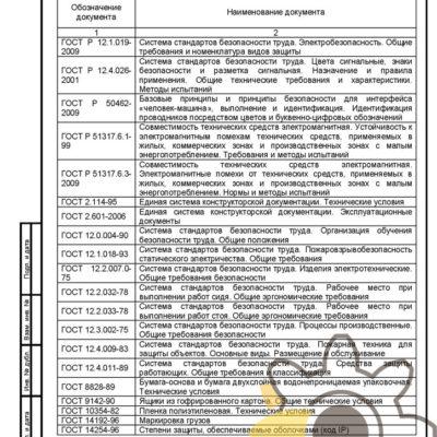 Технические условия на прибор электромагнитной очистки стр.16
